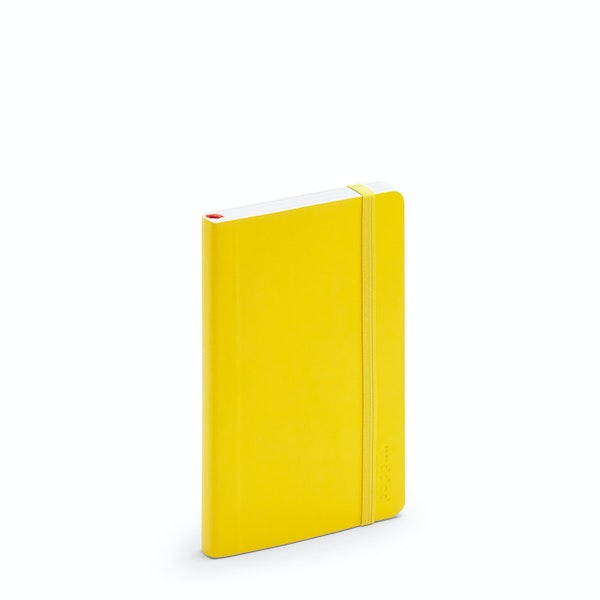 Yellow Small Soft Cover Notebook,Yellow,hi-res