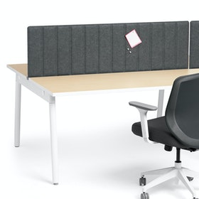 "Series A Desktop Privacy Panel, 57"", Face-To-Face Installation,,hi-res"