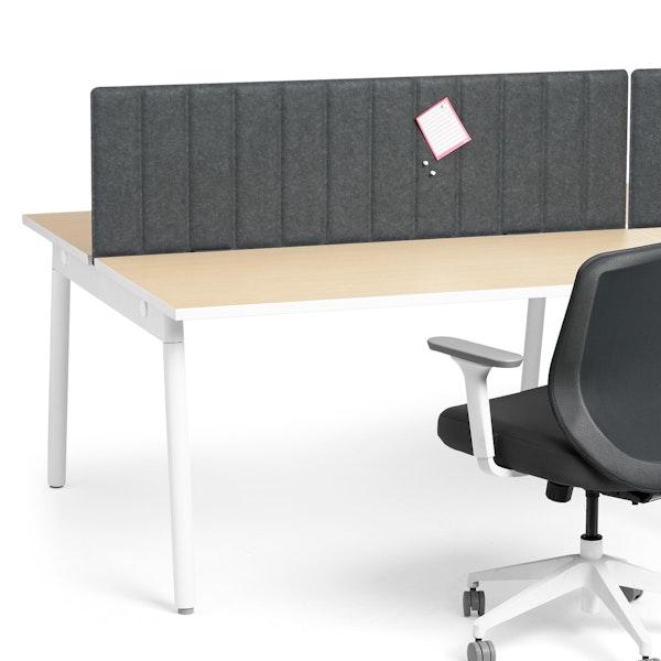 "Dark Gray Privacy Panel, 57"", Face-To-Face Installation,Dark Gray,hi-res"