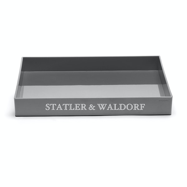 Custom Dark Gray Large Accessory Tray,Dark Gray,hi-res