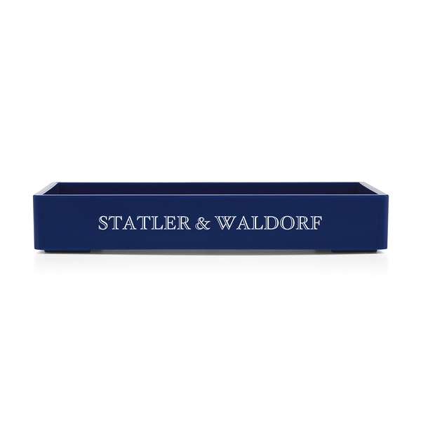 Custom Navy Small Accessory Tray,Navy,hi-res