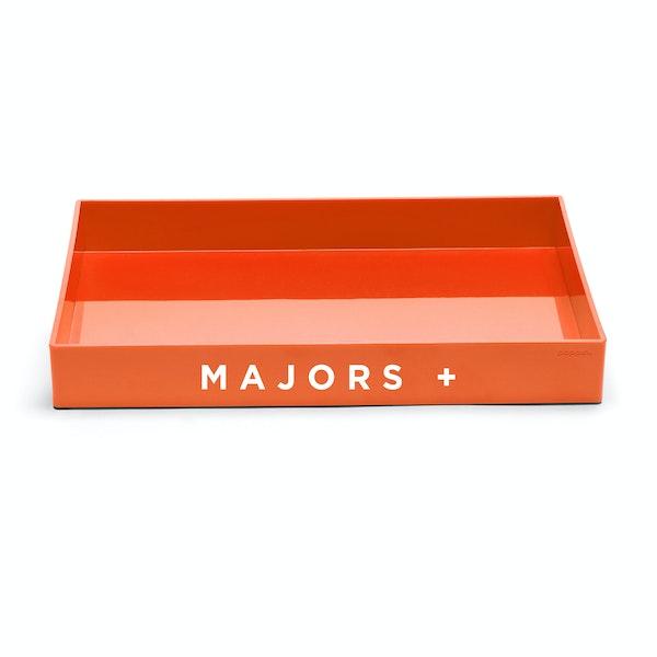 Custom Orange Large Accessory Tray,Orange,hi-res