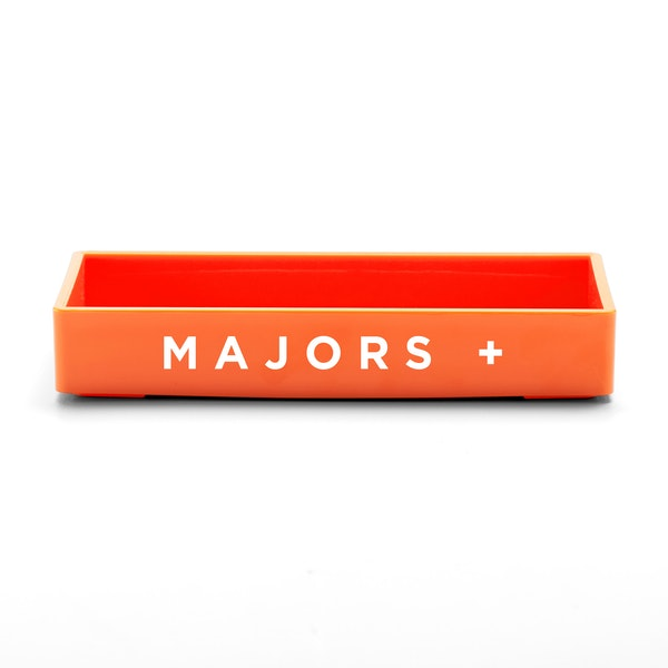 Custom Orange Small Accessory Tray,Orange,hi-res