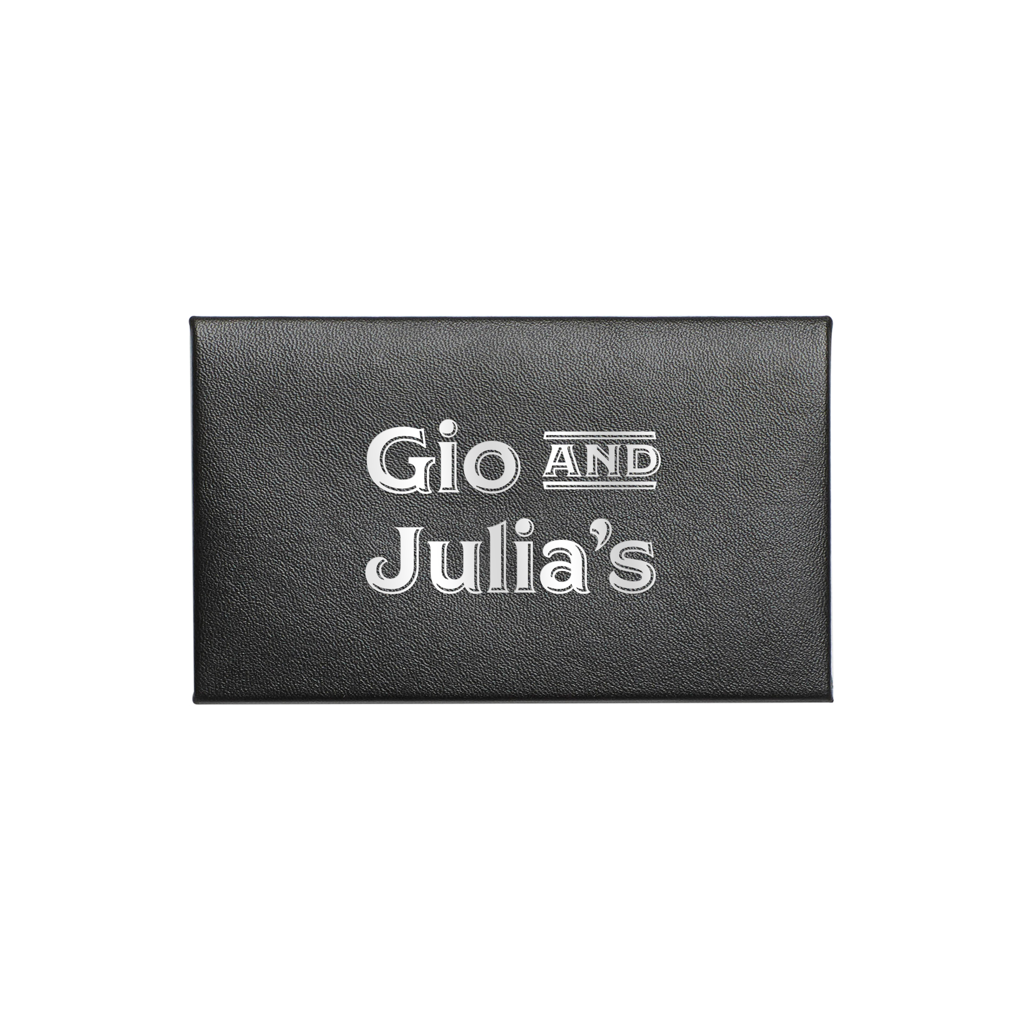 custom black card case desk accessories organization