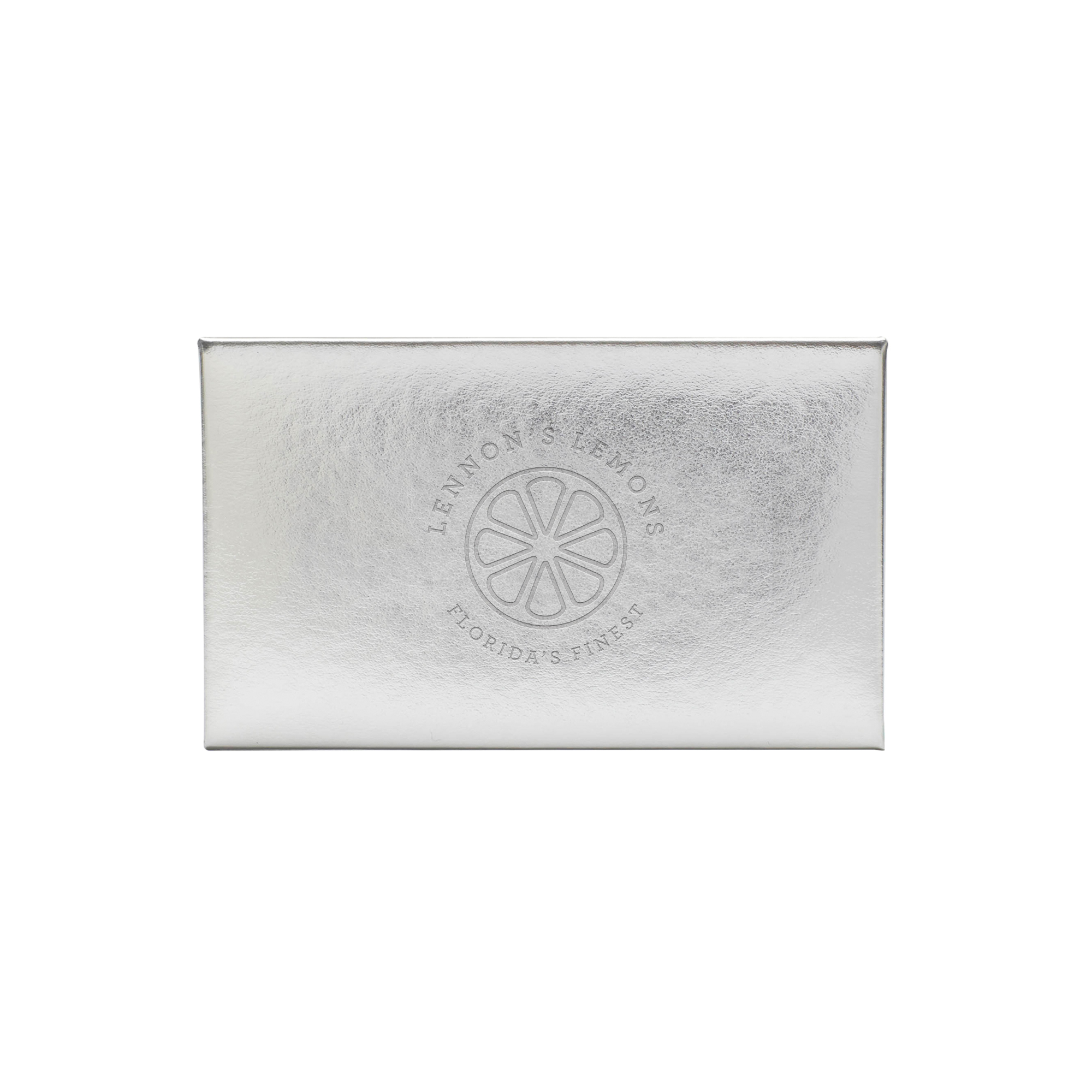 Custom Silver Card Case | Desk Accessories & Organization | Poppin