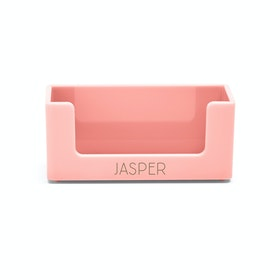 Custom Blush Business Card Holder,Blush,hi-res