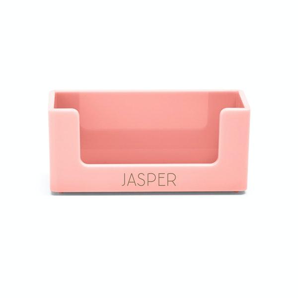 Custom Blush Business Card Holder,Blush,hi-res