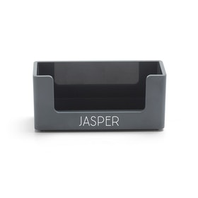 Custom Dark Gray Business Card Holder,Dark Gray,hi-res