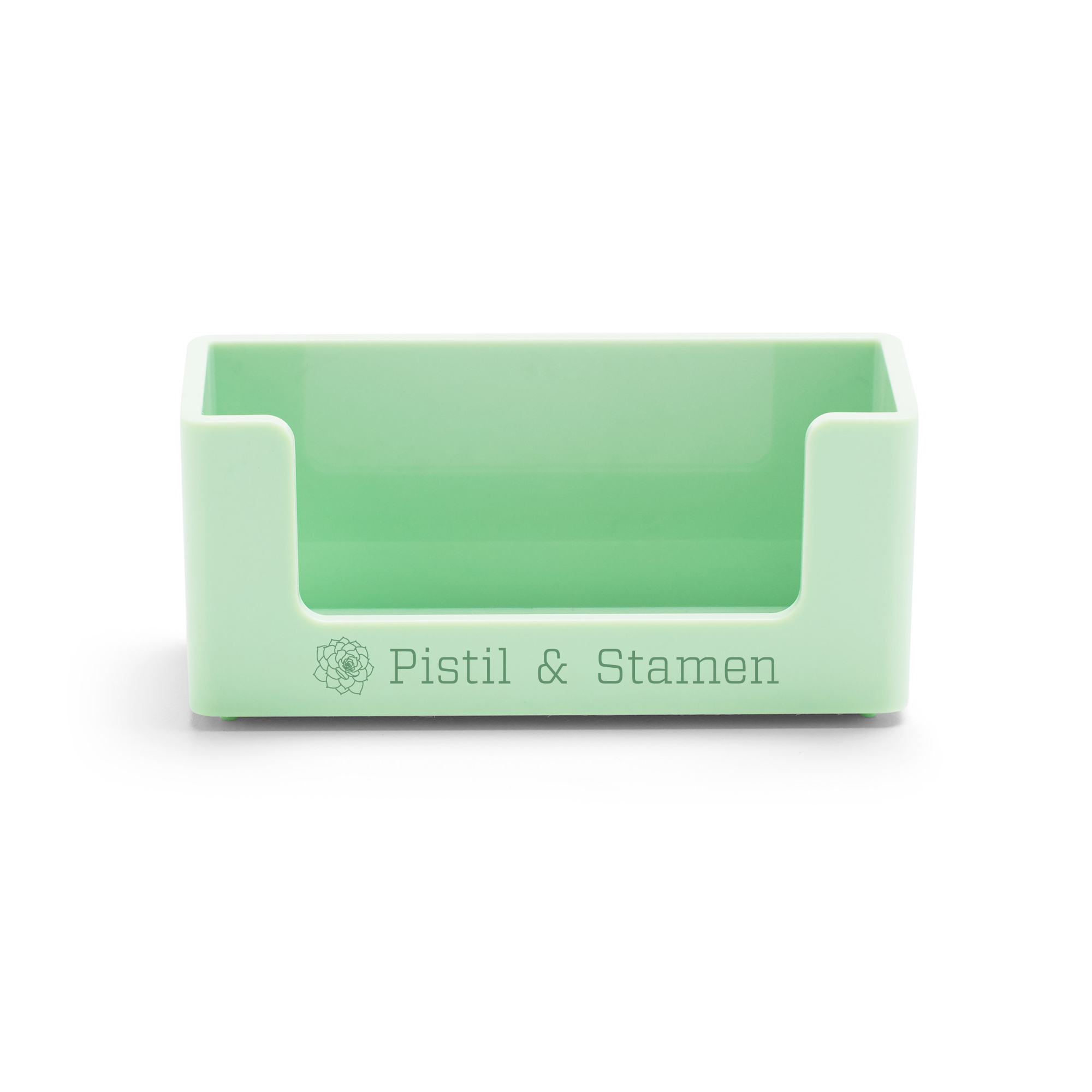 Custom Mint Business Card Holder | Desk Accessories| Poppin