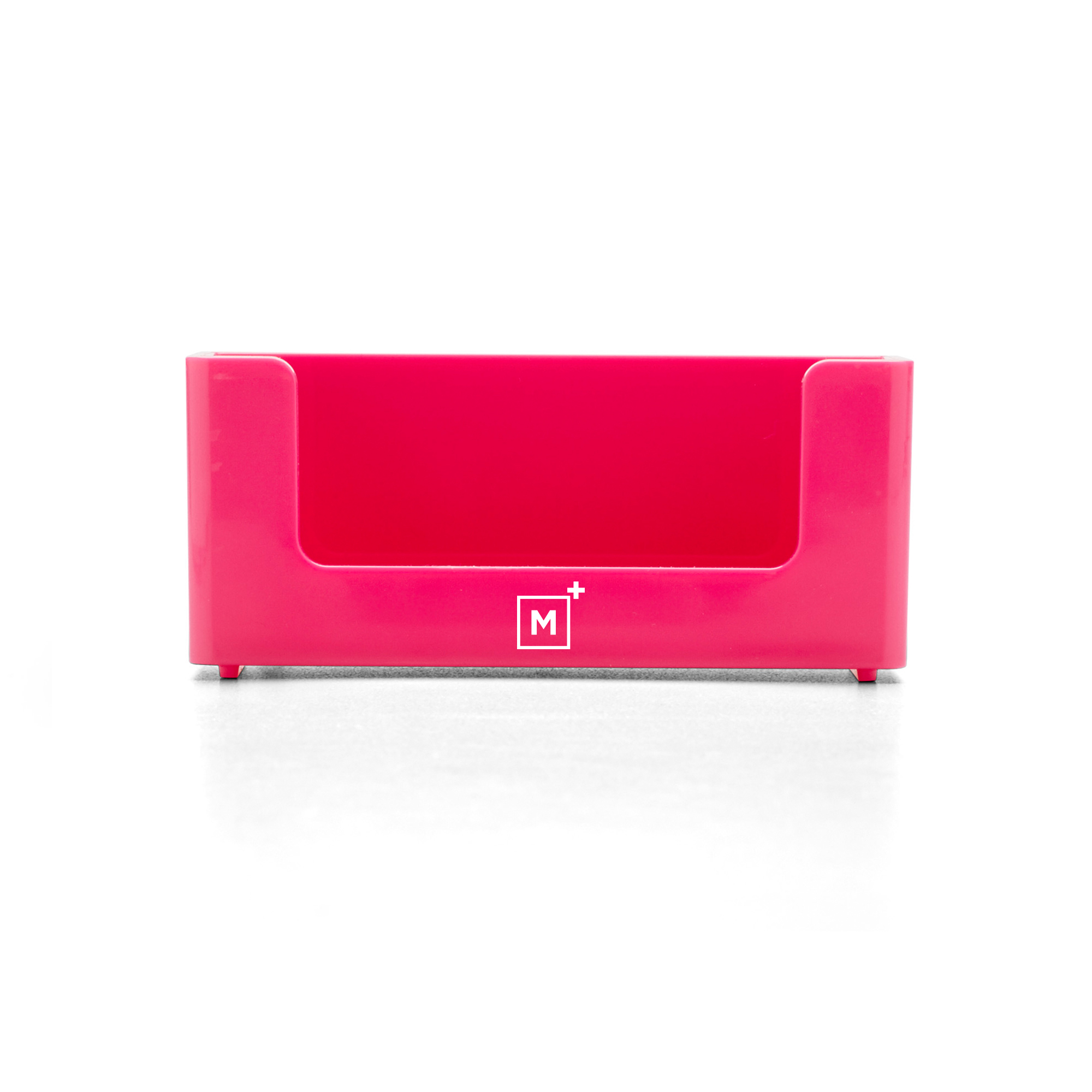 Custom Pink Business Card Holder | Desk Accessories| Poppin
