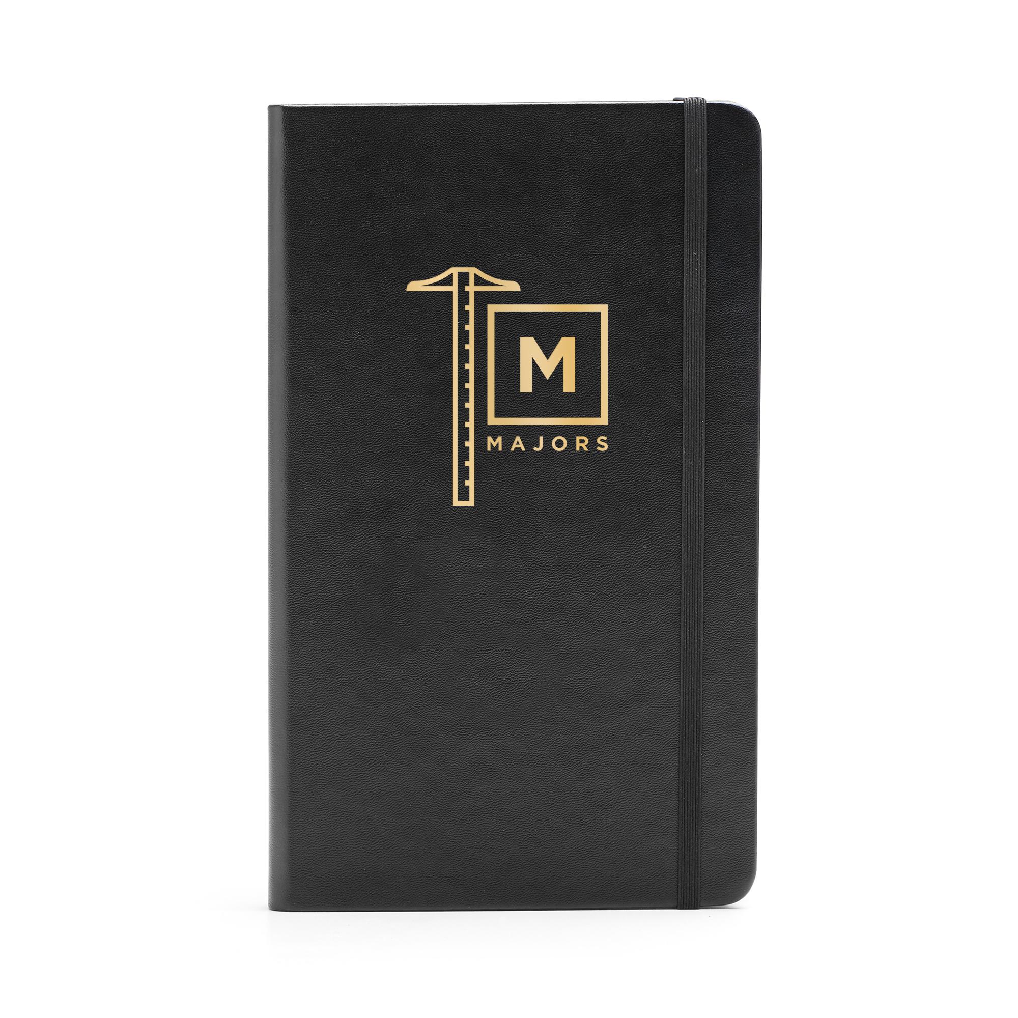 Delightful ... Custom Black Medium Hard Cover Notebook,Black,hi Res