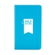 Custom Pool Blue Medium Hard Cover Notebook,Pool Blue,hi-res