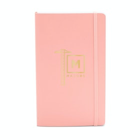 Custom Blush Medium Soft Cover Notebook,Blush,hi-res