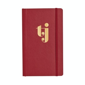 Custom Crimson Medium Soft Cover Notebook,Crimson,hi-res