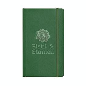 Custom Hunter Green Medium Soft Cover Notebook,Hunter Green,hi-res