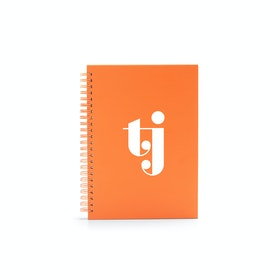 Custom Orange Medium Spiral Notebook,Orange,hi-res