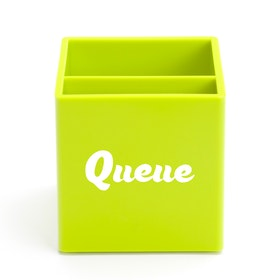 Custom Lime Green Pen Cup,Lime Green,hi-res
