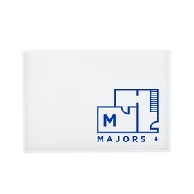 Custom White Medium Slim Tray,White,hi-res