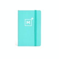 Custom Small Soft Cover Notebook,Aqua,hi-res