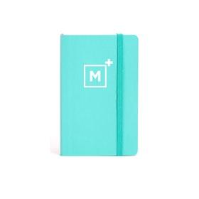 Custom Aqua Small Soft Cover Notebook,Aqua,hi-res