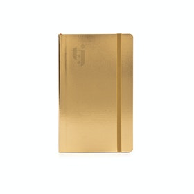 Custom Gold Small Soft Cover Notebook,Gold,hi-res