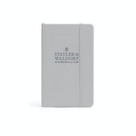 Custom Small Soft Cover Notebook,Light Gray,hi-res