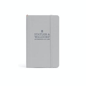Custom Light Gray Small Softcover Notebook,Light Gray,hi-res