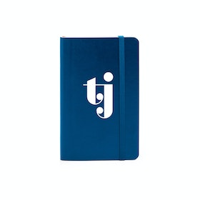 Custom Navy Small Softcover Notebook,Navy,hi-res