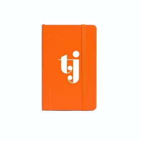 Custom Orange Small Soft Cover Notebook,Orange,hi-res