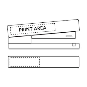 Custom White Stapler,White,hi-res