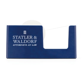 Custom Navy Tape Dispenser,Navy,hi-res