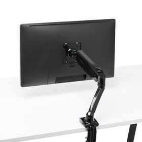 Black Single LCD Monitor Mount,,hi-res