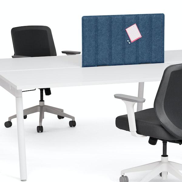 "Dark Blue Privacy Panel, 28"", Face-To-Face Installation,Dark Blue,hi-res"