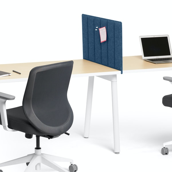 "Dark Blue Privacy Panel, 28"", Side-To-Side Installation,Dark Blue,hi-res"