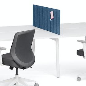 "Dark Blue Privacy Panel, 47"", Side-To-Side Installation,Dark Blue,hi-res"