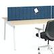 "Dark Blue Privacy Panel, 57"", Face-To-Face Installation,Dark Blue,hi-res"