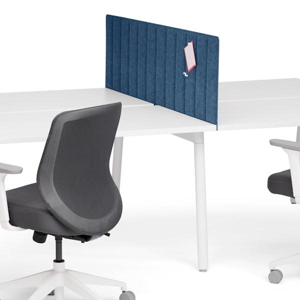 "Dark Blue Privacy Panel, 57"", Side-To-Side Installation,Dark Blue,hi-res"