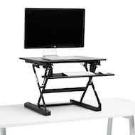 Peak Adjustable Height Desk Riser,,hi-res