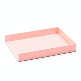 Blush Single Letter Tray,Blush,hi-res