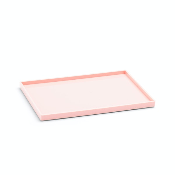 Blush Medium Slim Tray,Blush,hi-res