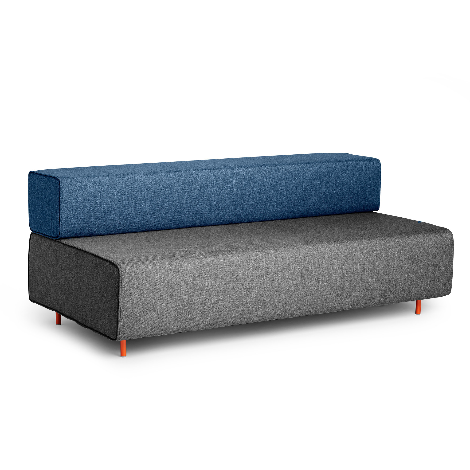 Lounge sofa  Dark Gray + Dark Blue Block Party Lounge Sofa | Lounge Seating ...