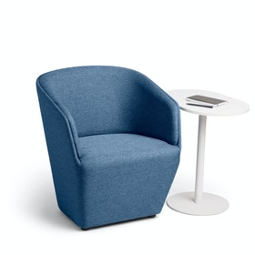 Dark Blue Pitch Club Chair,Dark Blue,hi-res