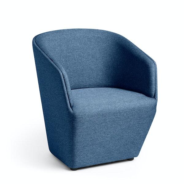 Dark Blue Pitch Club Chair,Dark Blue,hi-res