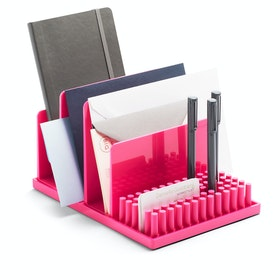 Pink Home Base Desk Set,Pink,hi-res