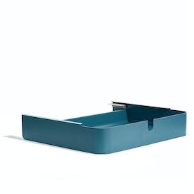 Slate Blue Key Desk Add-On Drawer,Slate Blue,hi-res