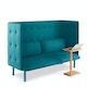 Teal QT Lounge Sofa,Teal,hi-res