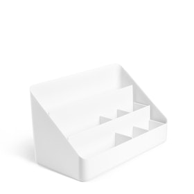 White Desk Organizer,White,hi-res