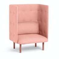QT Privacy Lounge Chair,Blush,hi-res