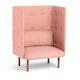 Blush QT Privacy Lounge Chair,Blush,hi-res