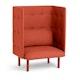 Brick QT Privacy Lounge Chair,Brick,hi-res